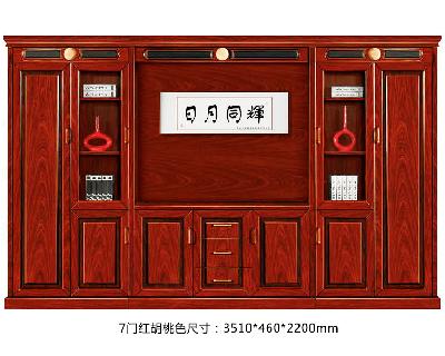 油漆实木文件柜