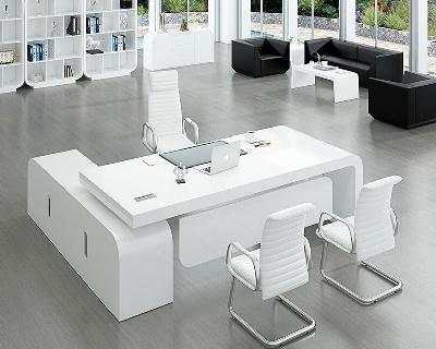 烤漆大班台办公桌