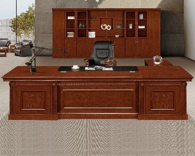 重庆烤漆大班台办公桌