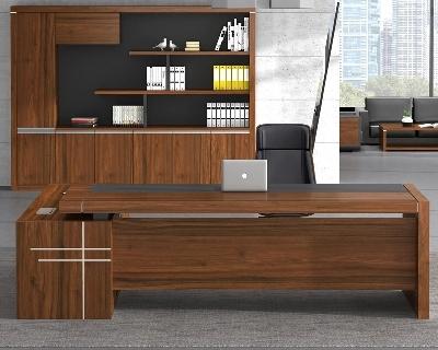 板式大班台办公桌定制