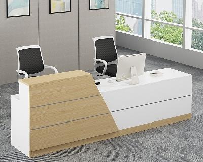 板式办公前台桌定制